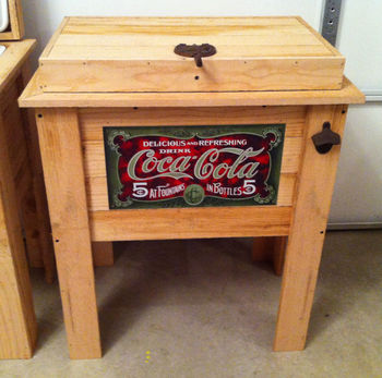 Wooden Cooler Box Outdoor Cooler Box Storage Cooler Box