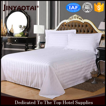 Top Brand Hotel Bed Sheet Bedding Fabric Runner