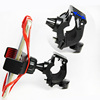 Customs universal flexible silicone Bike phone mount holder with bands and 360 Rotating for smart Phone/GPS/PDA/PSP/MP4