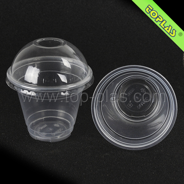 Disposable Custom Frozen Yogurt Packaging Cups Plastic
