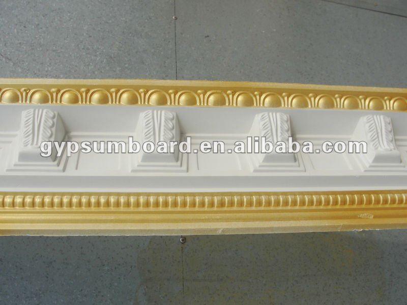 Diversos tipos pintados decorativos de yeso l nea molduras - Precio moldura escayola techo ...