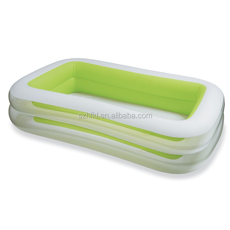 prompt set rectangle green swim center family Inflatable Pool,inflatable swimming pools