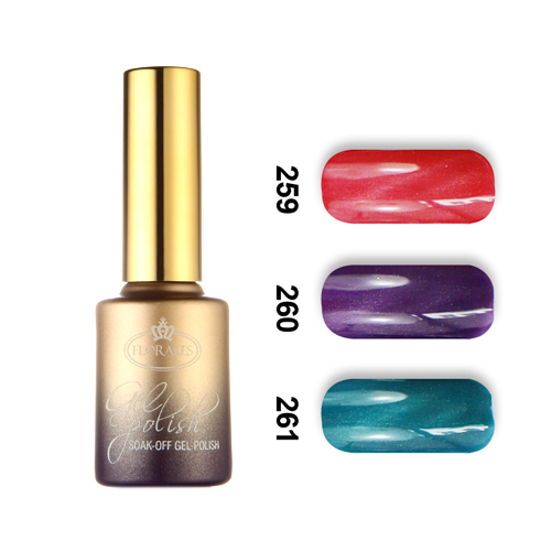 6pcs Florales magnetic cat eye gel nail polish 15ml with a free magnet stick 36 mysterious