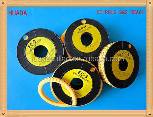 ec-3 yellow armoured cable marker steel strips