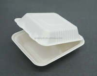 Dinnerware Sets Eco-Friendly Feature desechables biodegradable clamshell packaging