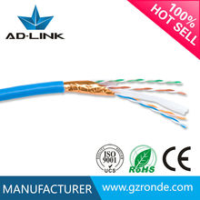 Cheap price excellent performance have CE certification Copper clad aluminum 0.5mm ftp ethernet cable