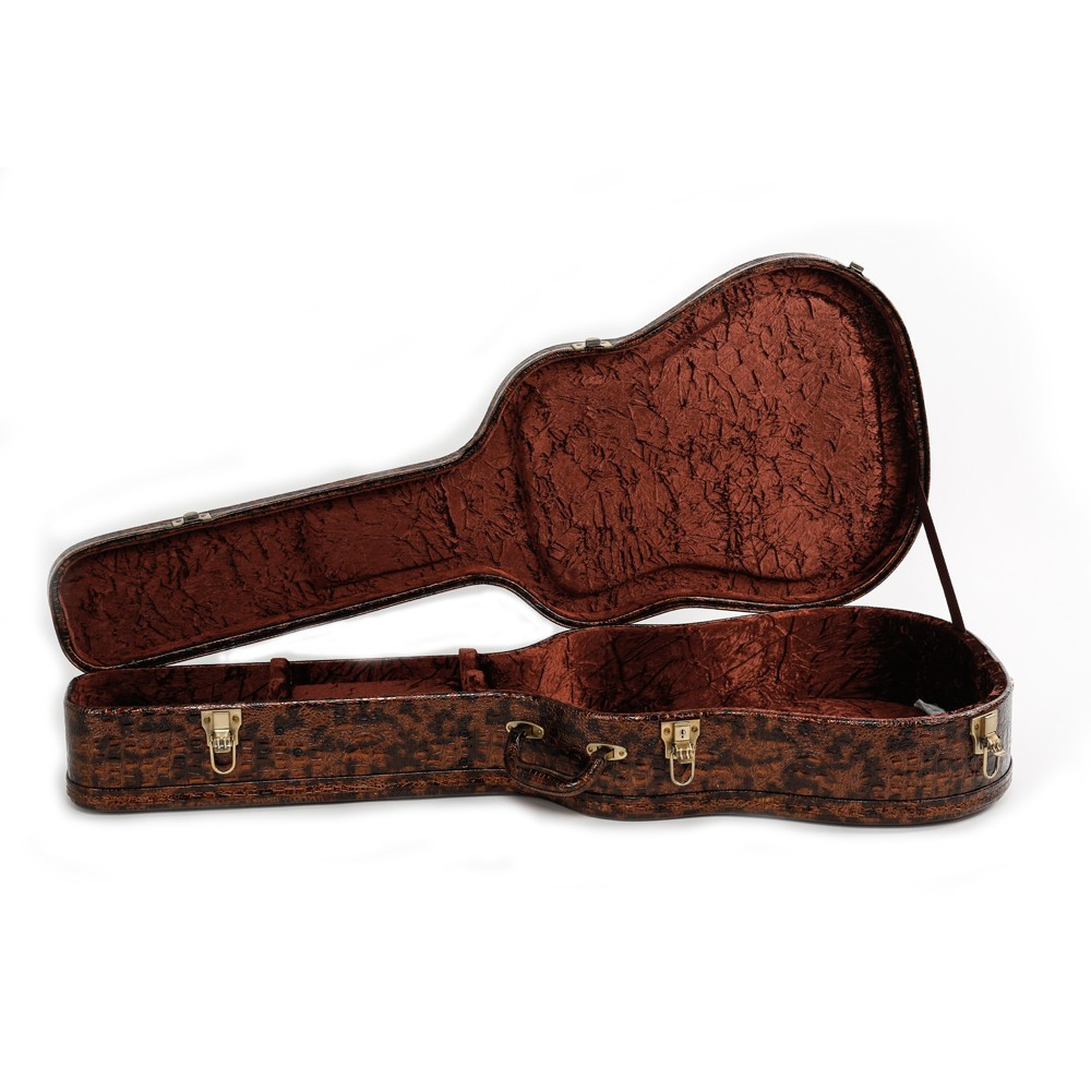 High End Special Leopard Guitar Case Suitable For 41 Inch Guitar ...