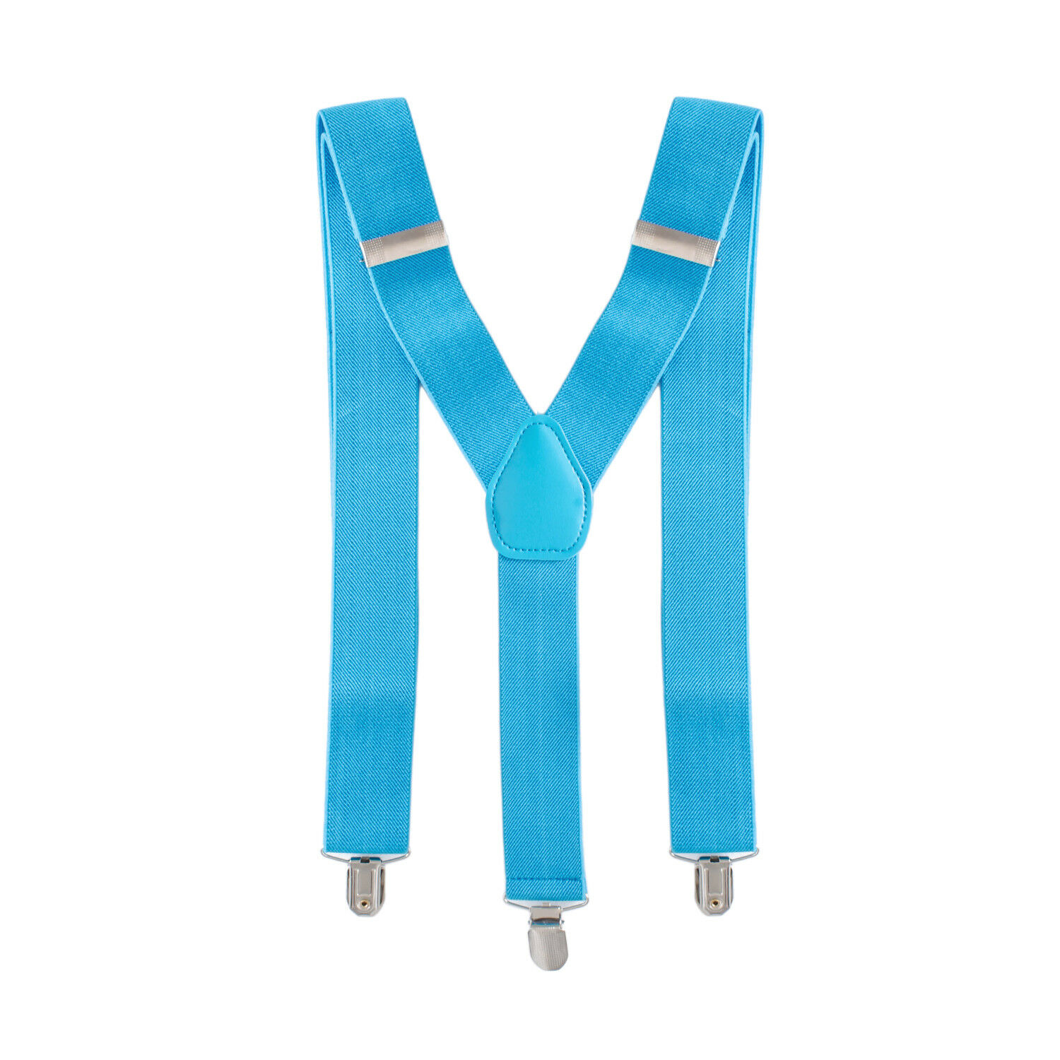 35mm <strong>Mens</strong> Braces <strong>Suspender</strong> Elastic Wide in Brown Clips on Trousers Jeans CG740