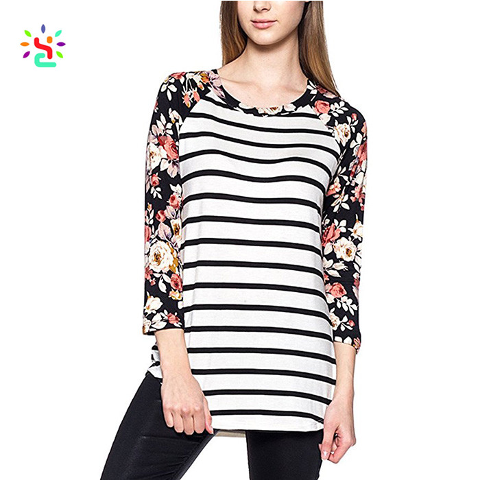 Raglan Floral T Shirt, Raglan Floral T Shirt Suppliers and Manufacturers at  Alibaba.com