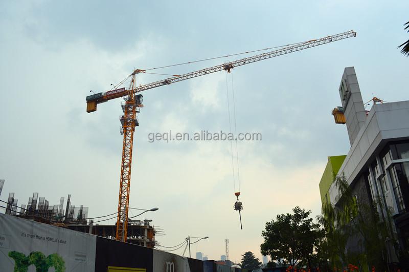 Indonesia Tower Crane Qtz160 (q6024)