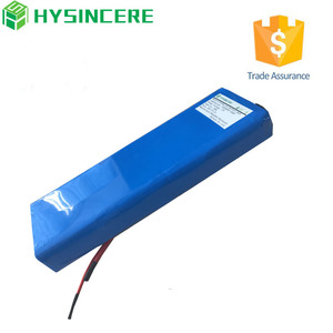 10S4P rechargeable lithium 37V 10ah li-ion 18650 battery pack