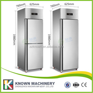 hotel restaurant Stainless steel commercial refrigerator price