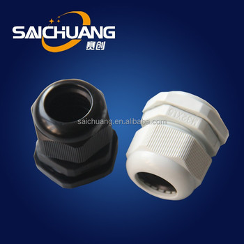 Strain Relief Fittings, Cord Grips, Cable Glands - Black & Gray ...