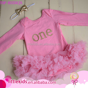 9cd550b8b9b7 Baby pink tutu Cake smash dress romper onesie sequin gold one first  birthday outfit skirts petti