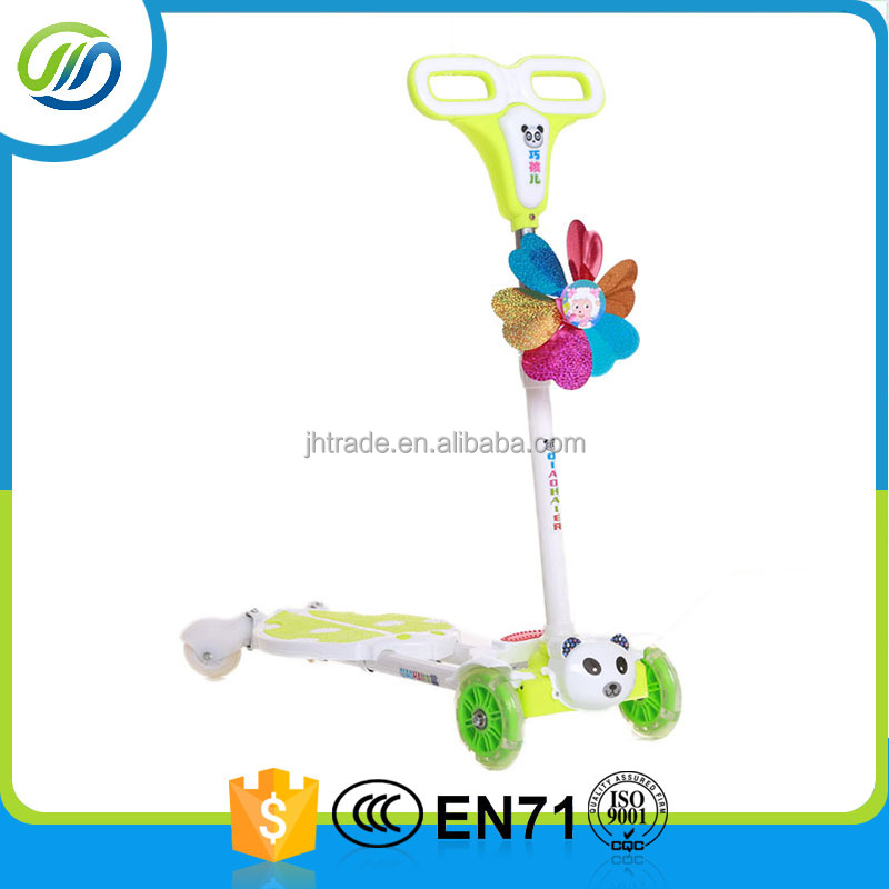 China supplier kids scooter/kick scooter with flashing wheels