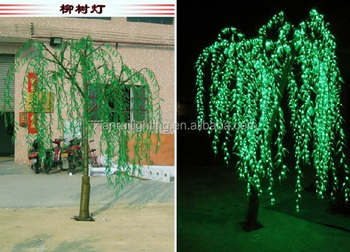 Hot New Sale!!!artificial Willow Tree China Supplier Lighted Pussy ...