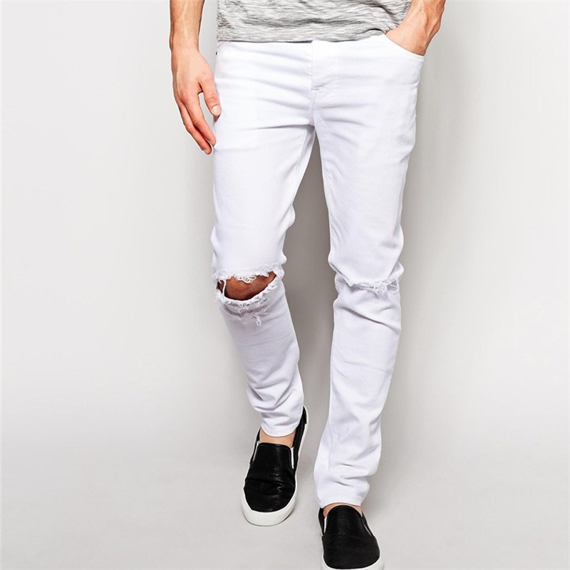 White Ripped Skinny Jeans White Ripped Skinny Jeans Suppliers and