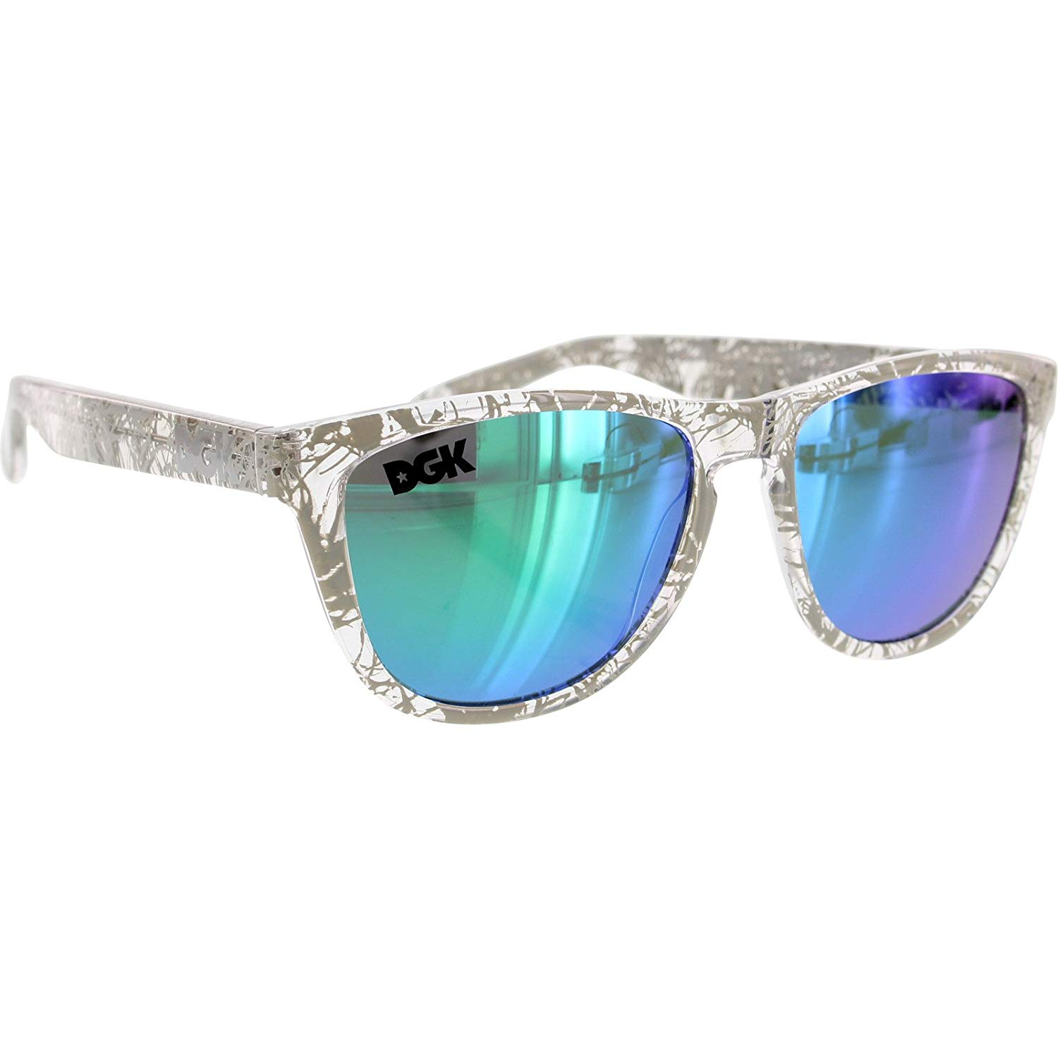 19e0981dff534 DGK Skateboards Vacation Shades Humbolt Sunglasses - with Mirror