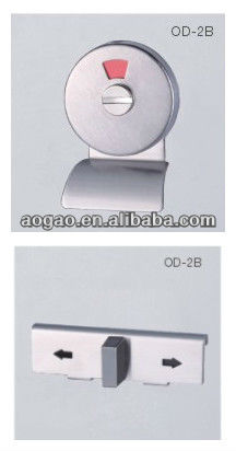 zinc alloy toilet door indicator lock