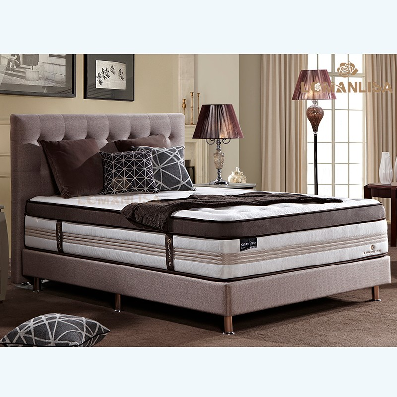 h tel utilis roi koil bambou king size matelas pour vente. Black Bedroom Furniture Sets. Home Design Ideas