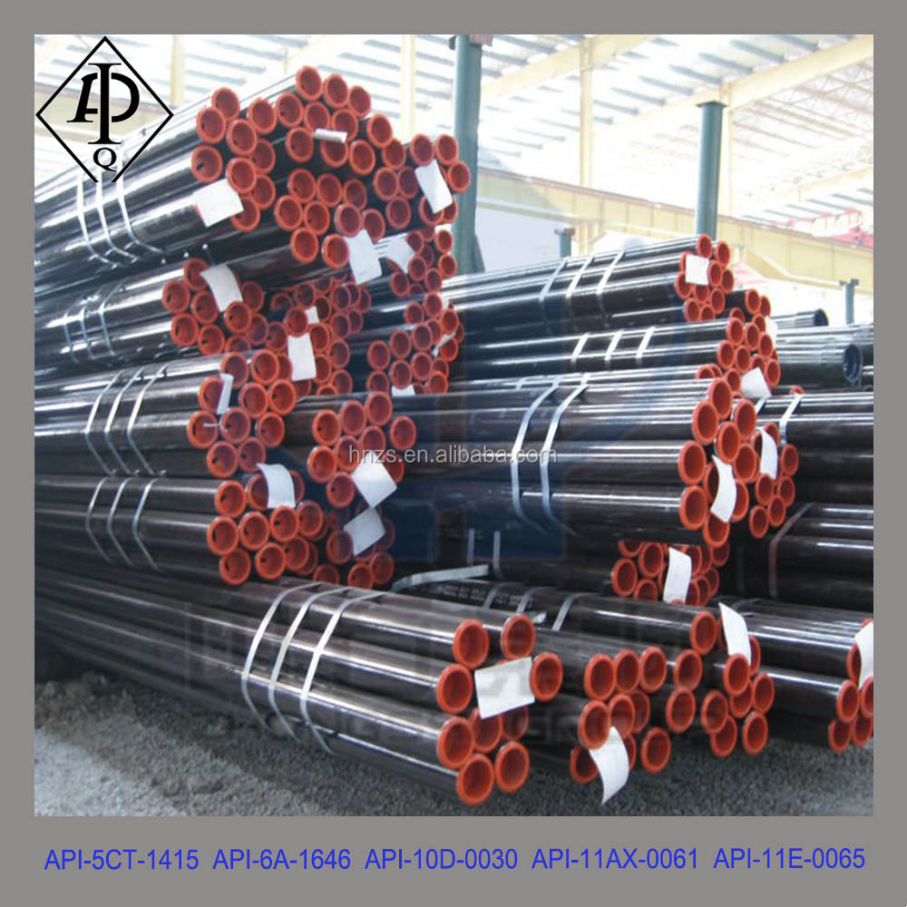 API 5CT Oil well Hot Rolled Seamless Tubing, API Tubing Pipe