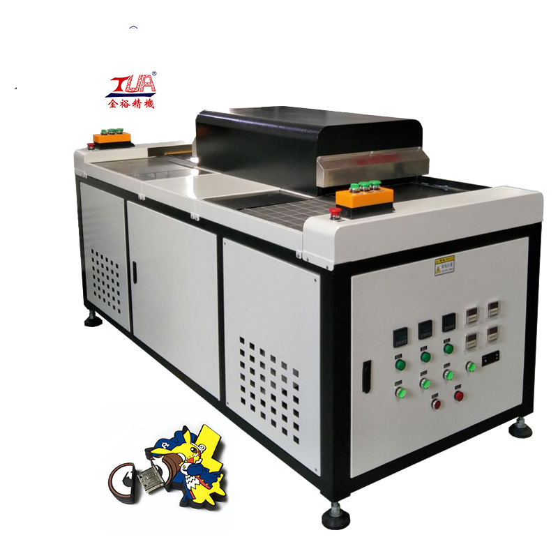 Full Automatic keychain usb pvc case baking machine