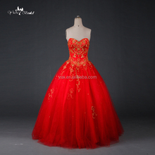 Red Gold Wedding Dresses, Red Gold Wedding Dresses Suppliers and ...
