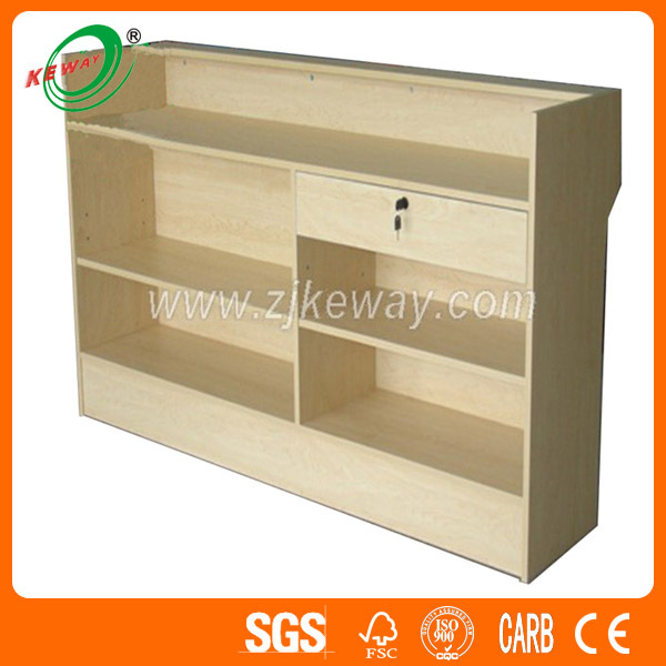 Wooden Cash Counter Design
