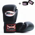 PU Leather Boxing Gloves with bandagem muay thai Sanda Sandbag Training Gloves For Men Women