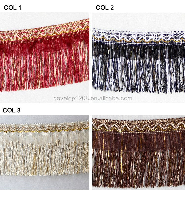Wholesale Sofa Decorative Bullion Fringe Trim Fringe Braid Trimming For Curtain Buy Fringe