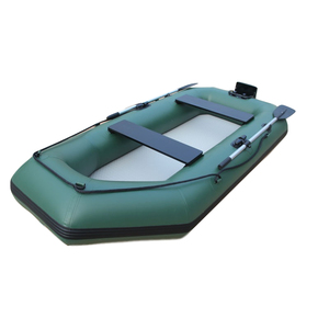 Wholesale various size durable inflatable fishing plastic pontoon electric boat