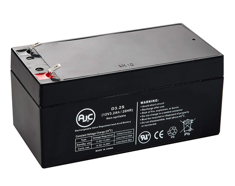 WP2.3-12 12 Volt 2.3 Ah SLA Replacement Battery w// F1 Terminal
