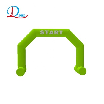 Outdoor running inflatable arch gate