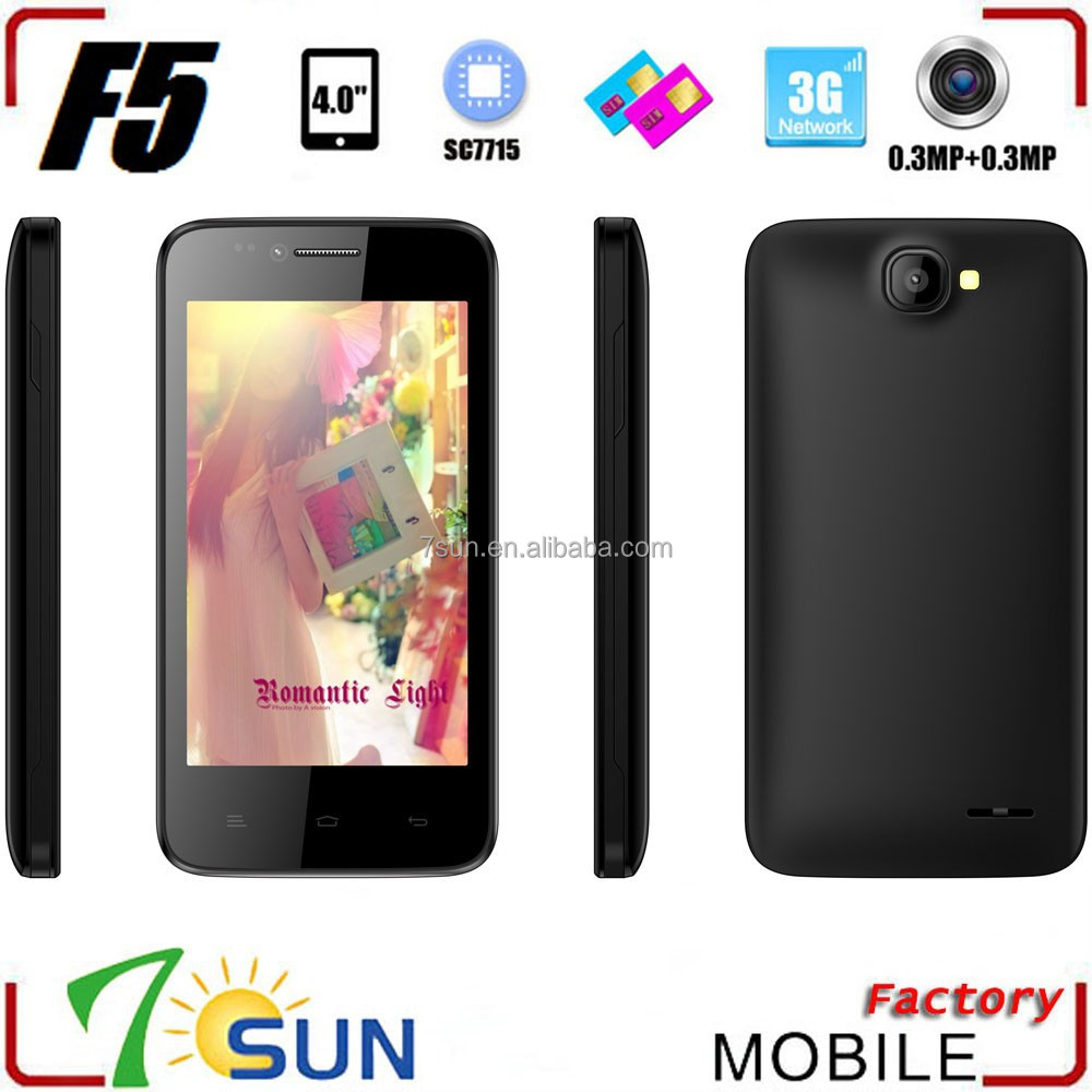 2015 F5 china cheapest 3g android phone mobile