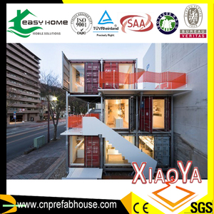 Beautiful Easy Assemble Modular Prefabricated Flat Pack Living Container House
