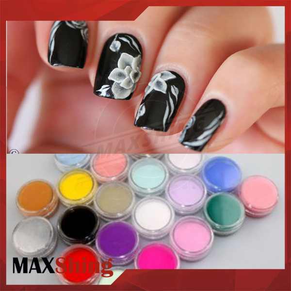 Bulk Polymer Nail Supplies Dipping Glitter Acrylic Nail Art Powder ...