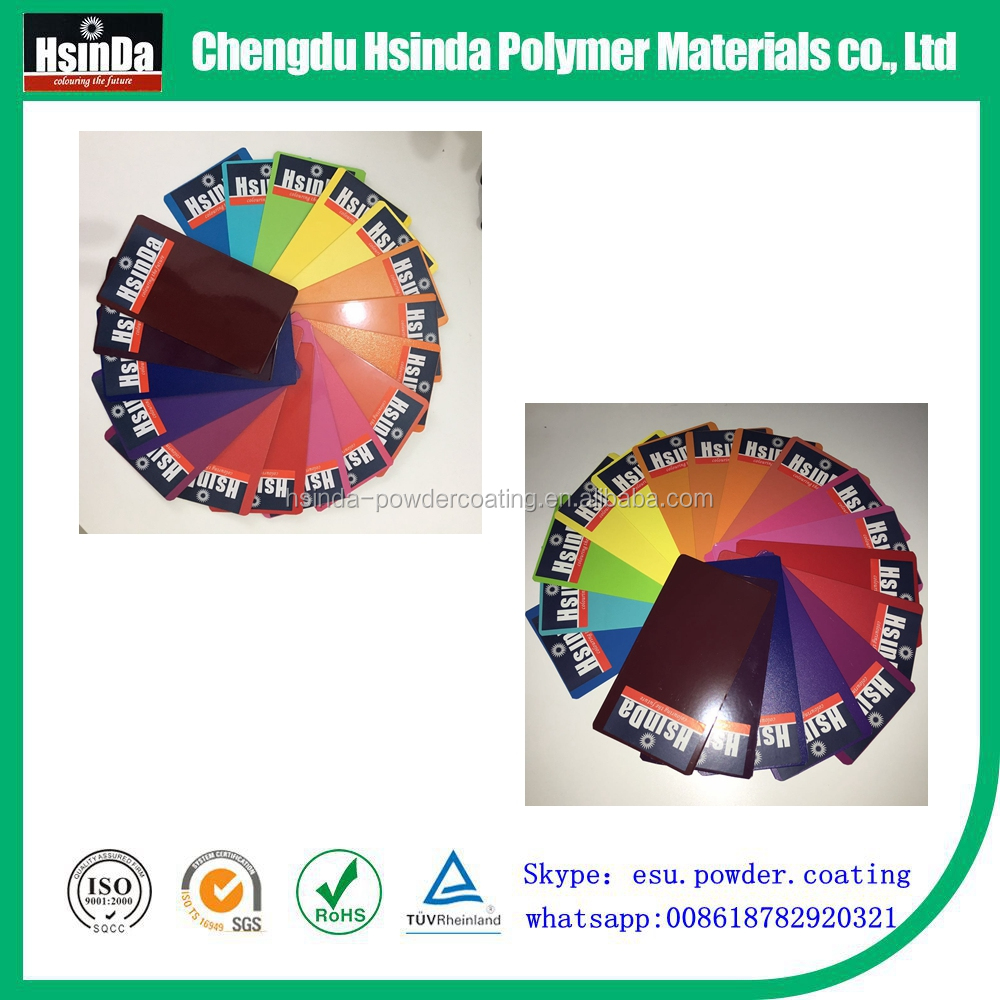 Non Toxic Smooth or texture Surface Colorful Powder Coating