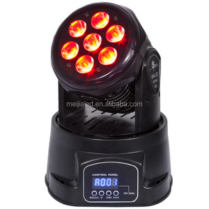 mini stage light effect RGBWA 5in1 7x12 led moving head