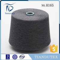 cotton manufacture stocklot dyeing price of bamboo yarn