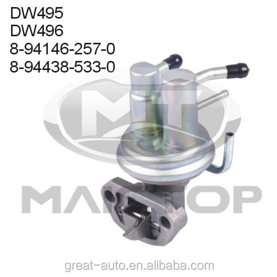 8-94146-257-0 8-94438-533-0 Auto Engines Fuel Pump For Isuzu