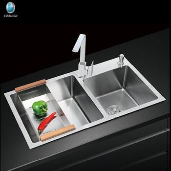 Modular Kitchen Designs Farmhouse Apron Single Hole Handcrafted 304  Stainless Steel Kitchen Sink - Buy Modular Handmade Stainless Steel Kitchen  ...