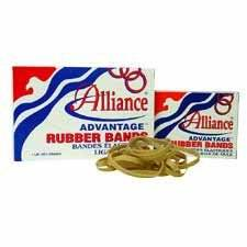 """Alliance Rubber : Rubber Bands, Size 32, 1/4 lb., 3"""" x 1/8"""", Advantage -:- Sold as 2 Packs of - 1 - / - Total of 2 Each"""