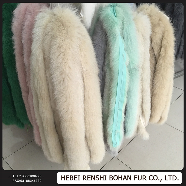 Natural raccoon fur collar,Chinese raccoon fur trim