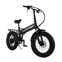 Upgrade 250w 350w 500w motor folding electric fat bike