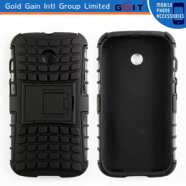 Hot Sell Mobile Phone For HTC ONE X 3 in 1 Case With Stand