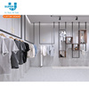 Custom Brand Retail Store Men's Clothes Store Display Men's Clothes Display Rack For Retail Shop