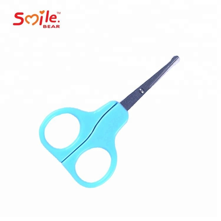 2018 New Safety Dapper Portable Safety Baby Scissor for Cutting Nail