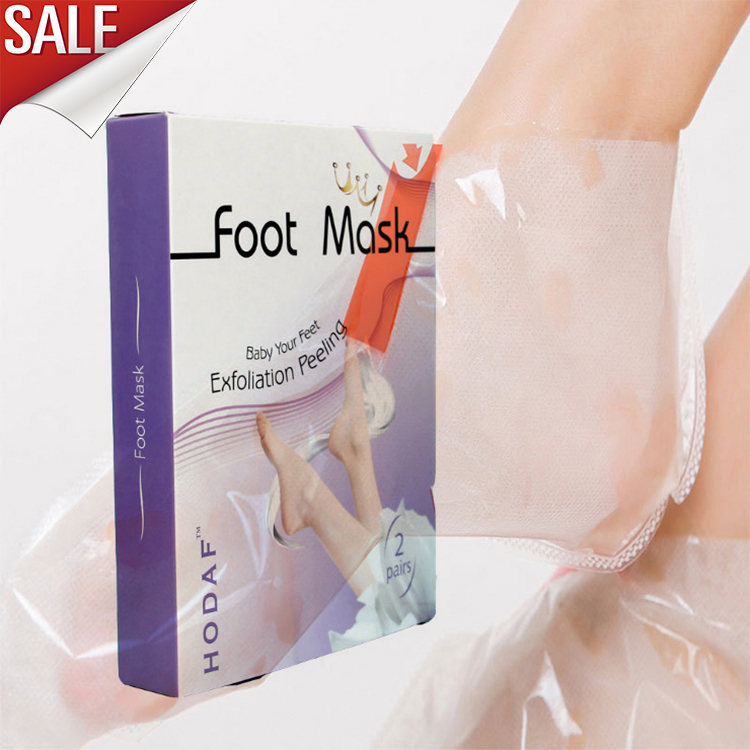 Foot Peel Mask Exfoliating Treatment Feet Skin Callus Removal 4 PAIRS foot mask