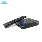 magicsee c300 , magicsee c400 android dvb s2 dvb t2 combo receiver amlogic s905d 4k smart tv box support pvr