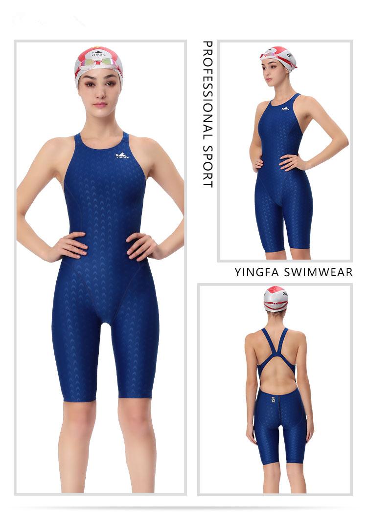 11393329d7e Yingfa 2017 new professional sport swimsuit plus size 3XL racing swimwear  women sharkskin one piece competitive swimming suit.  HTB1KDnuGFXXXXa2XpXXq6xXFXXX3
